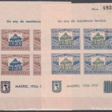 Sellos: GUERRA CIVIL, HOJAS BLOQUE, PI DE LLOBREGAT, . Lote 130859192