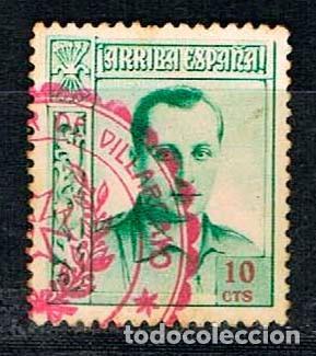 FALANGE, JOSÉ ANTONIO PRIMO DE RIVERA, AÑO 1938, USADO (Sellos - España - Guerra Civil - De 1.936 a 1.939 - Usados)