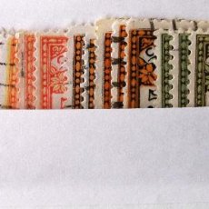 Sellos: BARCELONA, EDIFIL 9-12, 5 SERIES EN USADO.. Lote 132390874