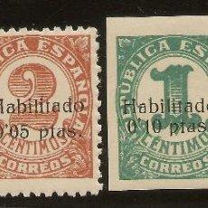 Sellos: ESPAÑA LOCALES BALEARES EDIFIL 1/4* MH SERIE COMPLETA 1937 NL194. Lote 132515518