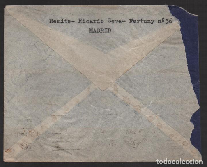 Sellos: CARTA DE MADRID A ALICANTE- 6ª BRIGADA MIXTA DE CARABINEROS- 1er. BON. 1 er. JEFE, VER FOTOS - Foto 2 - 132607670