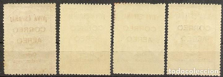 Sellos: ESPAÑA Locales Patrióticos Timbres Edifil 19/22**Mnh Serie completa 1936 NL1147 - Foto 2 - 133247982