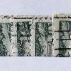 Sellos: BARCELONA, EDIFIL 65-68, 5 SERIES EN USADO.. Lote 133307366