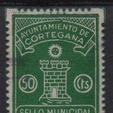 Sellos: CORTEGANA, 50 CTS, SELLO MUNICIPAL, VER FOTO. Lote 133379650