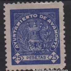 Sellos: AYAMONTE, 25 PTAS, SELLO MUNICIPAL- VER FOTO. Lote 133382762
