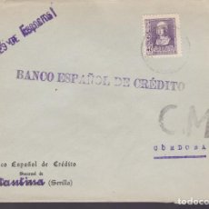 Sellos: CM3-44- GUERRA CIVIL. CARTA CONSTANTINA (SEVILLA) 1939?. LOCAL Y CENSURA. Lote 133868294