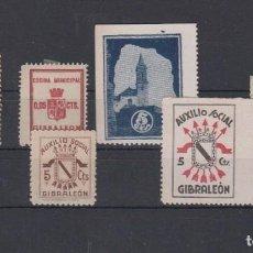 Sellos: GIBRALEÓN (HUELVA). LOTE DE CONJUNTO. . Lote 133890542