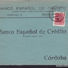 Sellos: CM3-65- GUERRA CIVIL. CARTA BADAJOZ 1938. LOCAL Y CENSURA . Lote 133984874
