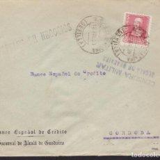 Sellos: CM3-68- GUERRA CIVIL. CARTA ALCALÁ DE GUADAIRA 1939. LOCAL Y CENSURA. Lote 134020190