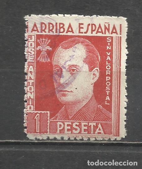 0213-SELLO GUERRA CIVIL FALANGE JOSE ANTONIO PRIMO DE RIVERA MARQUES DE ESTELLA 1 PESETA (Sellos - España - Guerra Civil - De 1.936 a 1.939 - Nuevos)