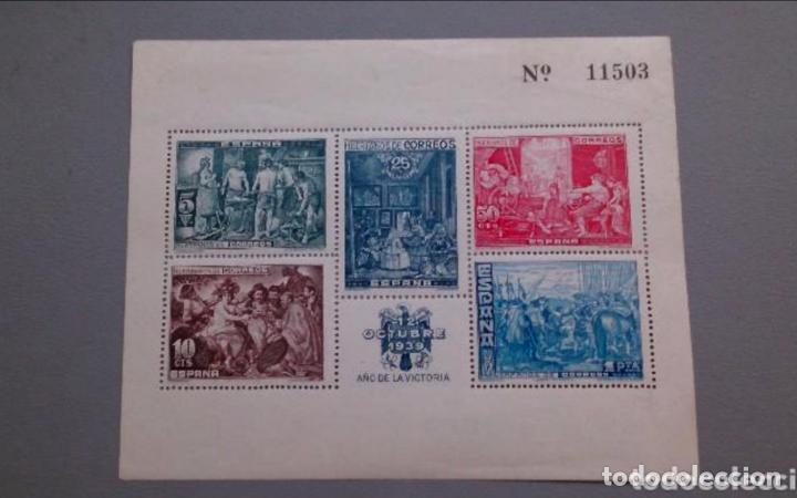 ESPAÑA - 1939 - BENEFICENCIA - HOJITA EDIFIL 34 - MNH** - NUEVA - VALOR CATALOGO 83€. (Sellos - España - Guerra Civil - Beneficencia)
