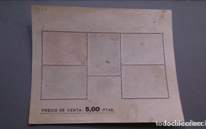 Sellos: ESPAÑA - 1939 - BENEFICENCIA - HOJITA EDIFIL 34 - MNH** - NUEVA - VALOR CATALOGO 83€. - Foto 2 - 134788374