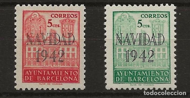 R43/ BARCELONA SH 40/1 (*) CATALOGO 31,00€ (Sellos - España - Guerra Civil - De 1.936 a 1.939 - Nuevos)