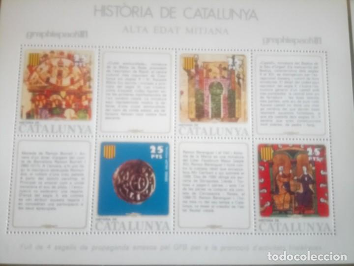 Sellos: HISTORIA DE CATALUNYA, ALTA EDAD MEDIA - Foto 2 - 135889026