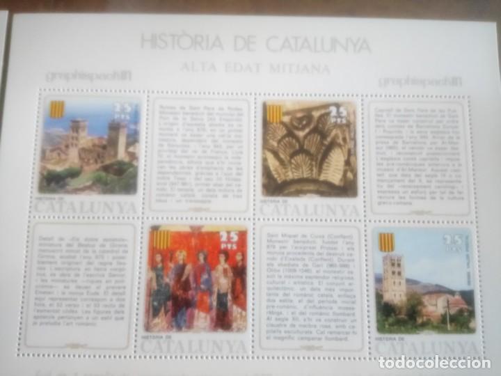 Sellos: HISTORIA DE CATALUNYA, ALTA EDAD MEDIA - Foto 3 - 135889026