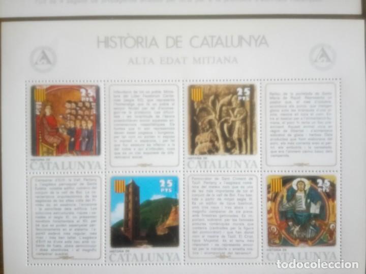 Sellos: HISTORIA DE CATALUNYA, ALTA EDAD MEDIA - Foto 4 - 135889026