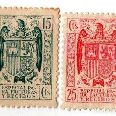Selos: TIMBRE FISCAL PARA FACTURAS Y RECIBOS. Lote 135912398