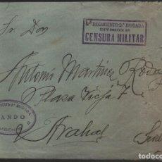 Selos: CARTA DEL PUESTO DE MANDO 2º REG. 2ª BRIGADA 16 DIVISION . ESTAFETA Nº 46, FRANQUICIA Y C.M., VER . Lote 136685166