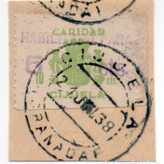 Sellos: SELLO LOCAL GUERRA CIVIL CIJUELA -CAT. GALVEZ B188. ORD:224. Lote 136687614