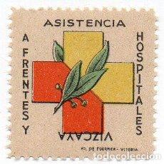 Sellos: SELLO LOCAL GUERRA CIVIL FRENTES Y HOSPITALES -CAT. GALVEZ 7I. ORD:1652. Lote 136699005