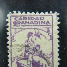 Sellos: SELLO LOCAL GRANADA Nº 317 GUERRA CIVIL ORD: 2135. Lote 136702392