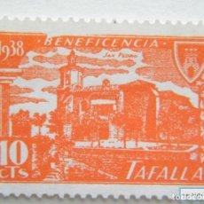 Sellos: SELLO LOCAL TAFALLA, BENEFICENCIA. CAT. GALVEZ NºB854**. ORD: 2283. Lote 136703549