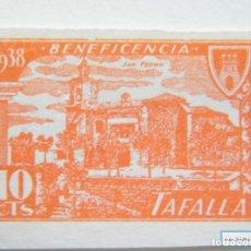 Sellos: SELLO LOCAL TAFALLA, BENEFICENCIA. CAT. GALVEZ NºB854**.S.D. ORD: 2284. Lote 136703553