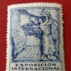 Sellos: BARCELONA. EXPOSICIÓN INTERNACIONAL DEL MUEBLE. 1923.. Lote 137446289