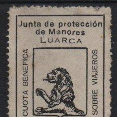Sellos: LUARCA, 25 CTS,.- JUNTA DE PROTECCION DE MENORES- SOFIMA Nº 1, VER FOTO. Lote 137778102