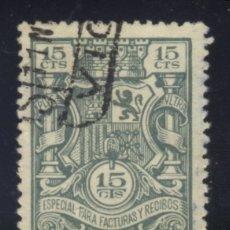 Sellos: S-0561- FISCAL. ESPECIAL PARA FACTURAS Y RECIBOS.. Lote 137912752