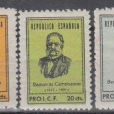 Sellos: VIÑETAS, PRO I.C.F. ( IBERIA CARTO-FILATÉLICA ), PERSONAJES, . Lote 138605194