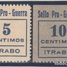 Sellos: GUERRA CIVIL, PRO - GUERRA, ITRABO ( GRANADA ), . Lote 138614346