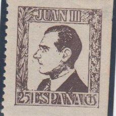 Timbres: VIÑETA, JUAN III ( DON JUAN DE BORBÓN ) . Lote 138617262