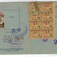 Sellos: CARNET C.I.I.G CON 33 VIÑETAS NO CATALOGADAS TIPO ALLEPUZ BARCELONA 81. RADI IX . VER DESCRIPCION. Lote 138688034