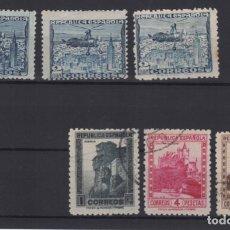 Sellos: 1938 AUTOGIRO Y MONUMENTOS VARIOS VALORES. Lote 138967198