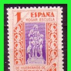 Sellos: BENEFICENCIA 1937 PEDAGOGOS, EDIFIL Nº 16P (*). Lote 140010894