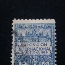 Sellos: SELLO EXPOSICION. INTER.- DE BARCELONA 5 CTS. 1929 -SERIE 1A.. Lote 140036946