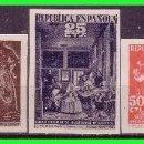 Sellos: BENEFICENCIA 1938 CUADROS DE VELÁZQUEZ, EDIFIL Nº 29S A 32S (*) . Lote 140070410