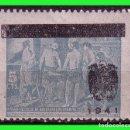 Sellos: BENEFICENCIA 1941 CUADROS DE VELÁZQUEZ, NO EMITIDOS EDIFIL Nº NE35G * * PAPEL GRIS. Lote 140070774