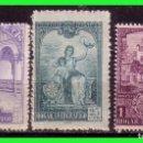 Sellos: BENEFICENCIA HUERFANOS DE TELÉGRAFOS 1937 HOGAR TELEGRÁFICO, EDIFIL Nº 10 A 12 * *. Lote 140073718
