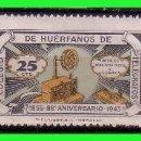 Sellos: BENEFICENCIA HUERFANOS DE TELÉGRAFOS 1943 88º ANIVERSARIO GALVEZ Nº 44 A 46 * *. Lote 140117554