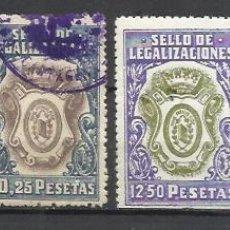 Sellos: 7561-COLECCION FISCALES ESPAÑA COLEGIO NOTARIAL,LEGITIMACIONES,LEGALIZACIONES. ALTO VALOR,TOTALMENTE. Lote 140408274