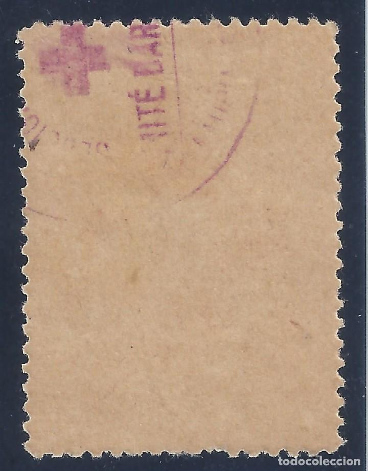 Sellos: AYUDAD A LA CRUZ ROJA. AÑO 1937. GUILLAMÓN Nº 1642. MH * - Foto 2 - 140421478