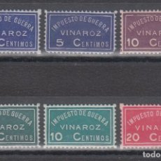 Sellos: GUERRA CIVIL, IMPUESTO DE GUERRA, VINAROZ (CASTELLON). Lote 140440158
