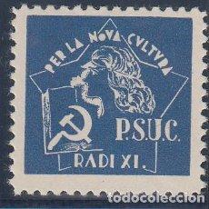 Sellos: GUERRA CIVIL, - P.S.U.C. RADI XI.-. Lote 140444886