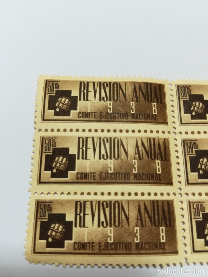 Sellos: Guerra civil 6 viñetas año 1938 sri 50cts nuevos - Foto 3 - 112892731