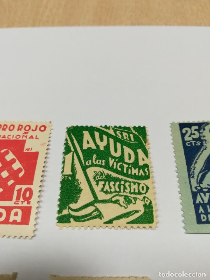 Sellos: Sellos Guerra civil 8 viñetas año 1938 - Foto 5 - 141737326