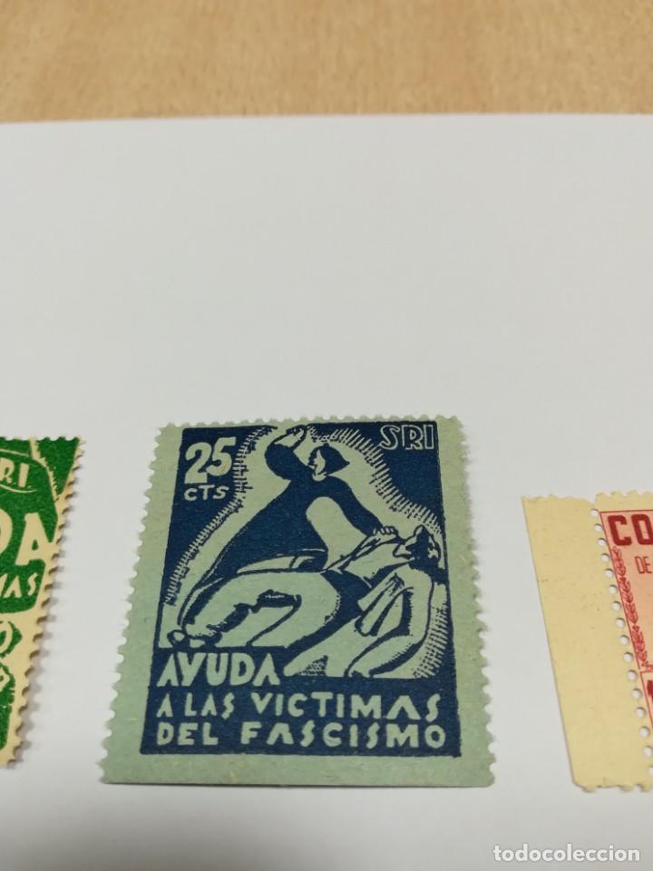 Sellos: Sellos Guerra civil 8 viñetas año 1938 - Foto 6 - 141737326