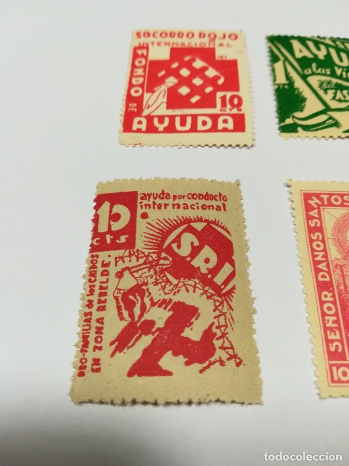 Sellos: Sellos Guerra civil 8 viñetas año 1938 - Foto 8 - 141737326