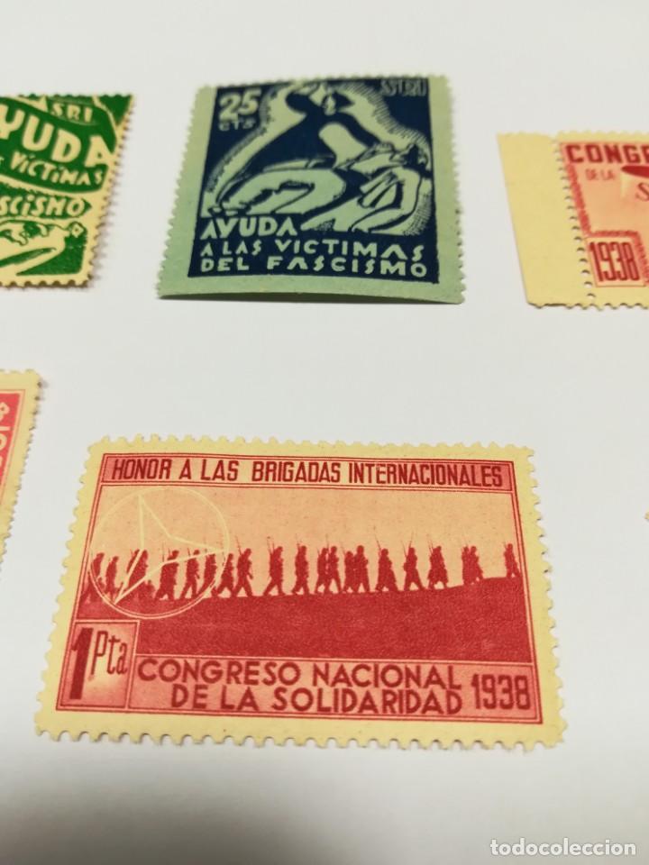 Sellos: Sellos Guerra civil 8 viñetas año 1938 - Foto 10 - 141737326